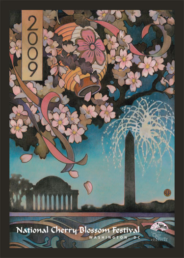 National Cherry Blossom Festival Official Poster (2009)