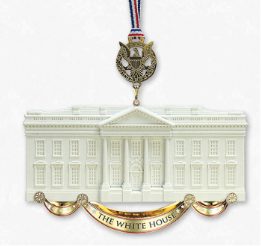 Official White House Christmas Ornament Honoring James Hoban