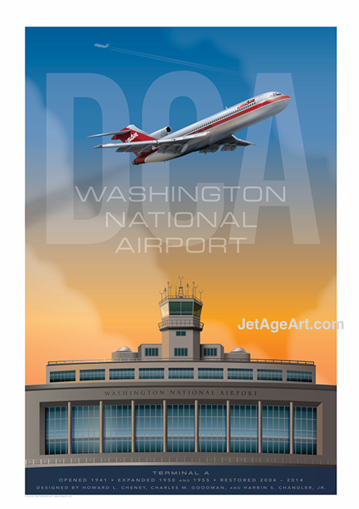 National Airport Poster