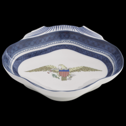 Diplomatic Service American Eagle Porcelain Shell Dish
