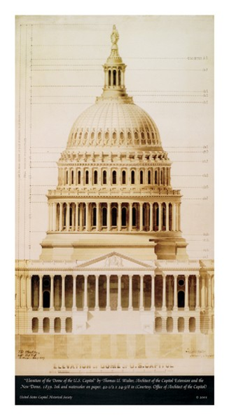 """Elevation of the Dome"" Print"