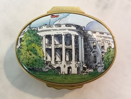 James Hoban Bicentennial Enamel Box (Circa 1992)