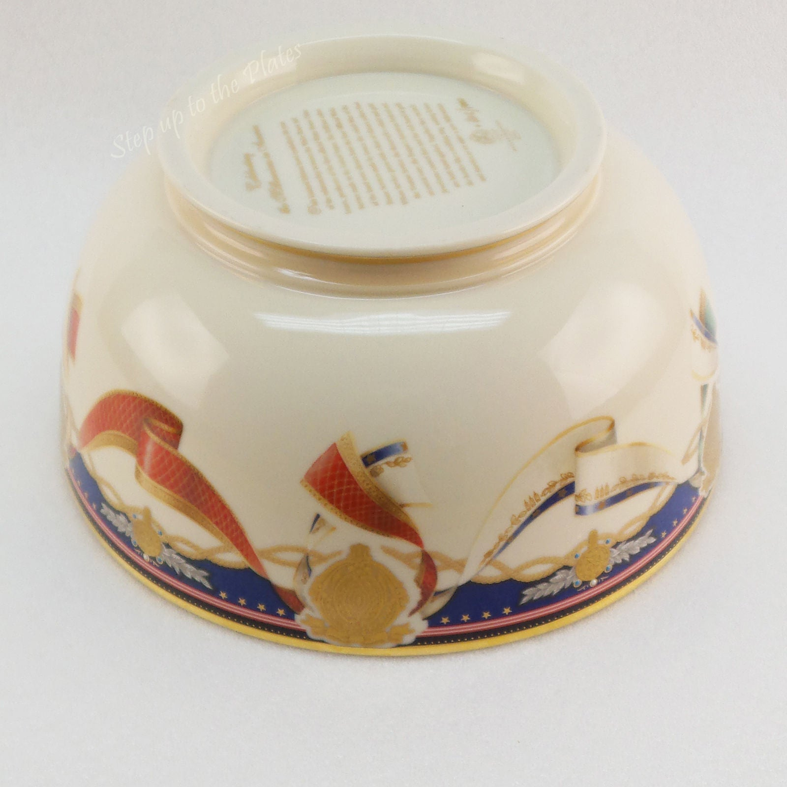 White House Millennium Collection Porcelain Bowl