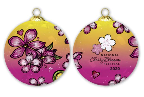 National Cherry Blossom Festival Official Ornament (2020)