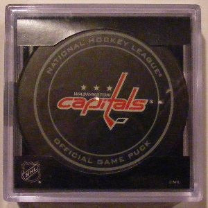 Washington Capitals Official Game Puck
