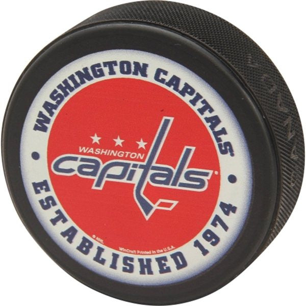 Washington Capitals Printed Logo Puck