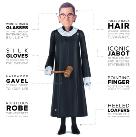 Notorious RBG (Ruth Bader Ginsburg) Action Figure