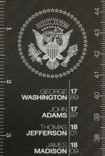 Carbon Fiber Presidential Ruler