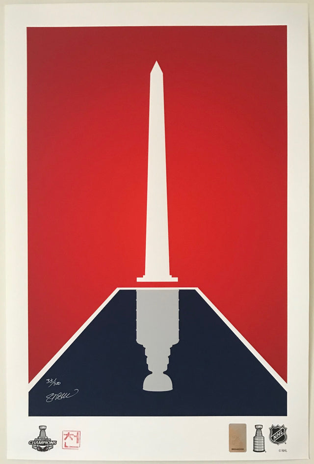Copy of Stanley Cup 2018 - Minimalist Print (Limited Edition - Framed)