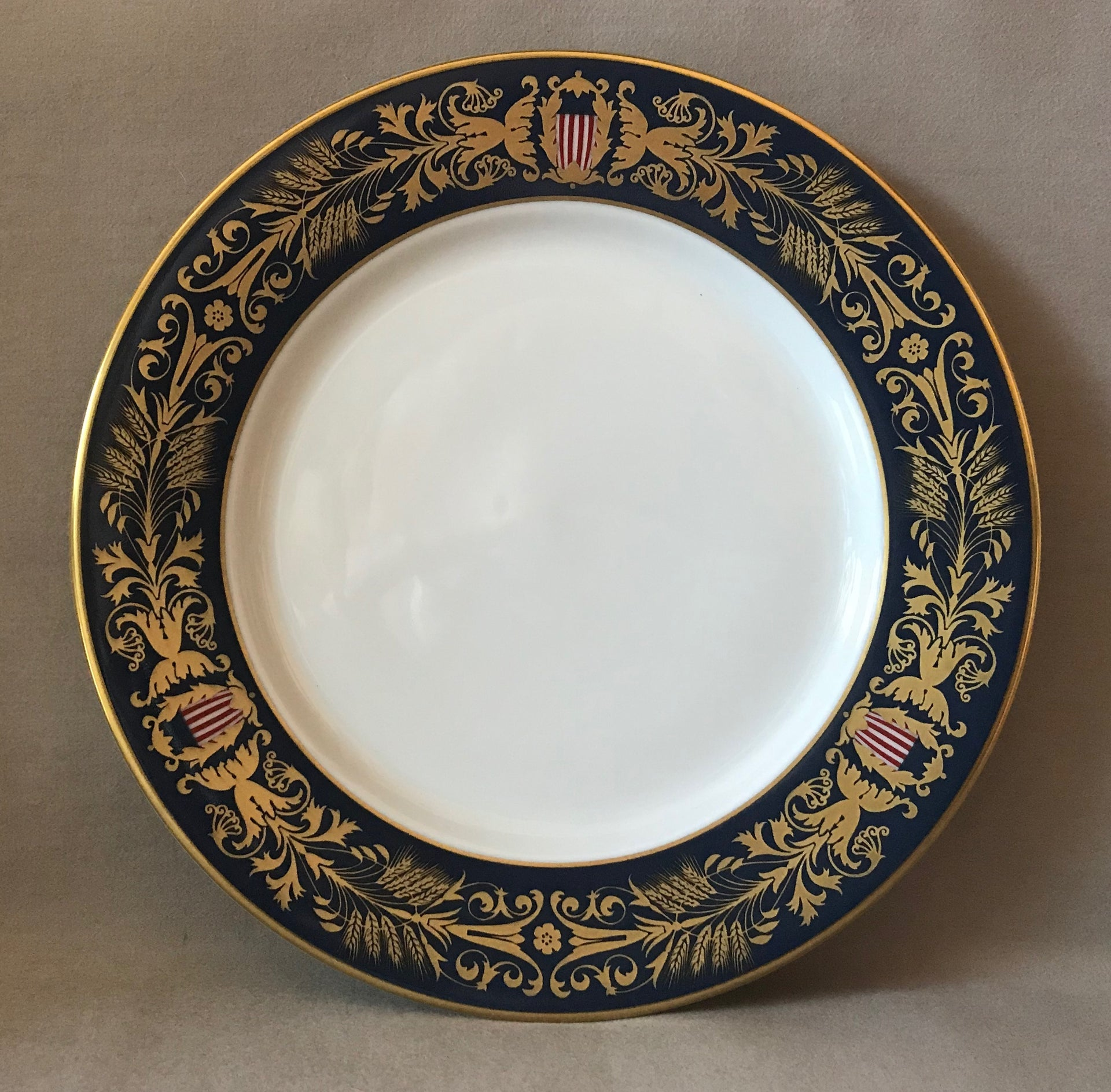 Tiffany & Co. U.S. Congress Meeting Bicentennial Plate (Circa 1989)
