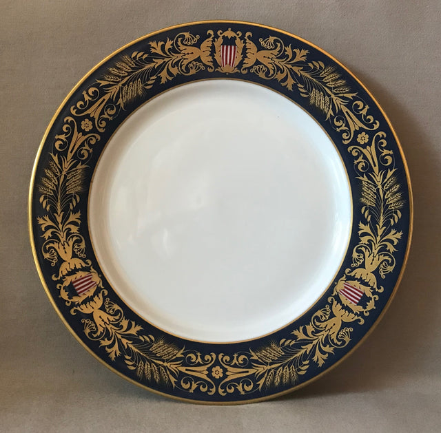 Tiffany & Co. First Meeting of Congress Bicentennial Plate (Circa 2000)