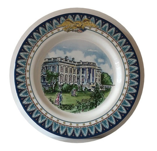 Tiffany & Co. White House Bicentennial Plates (Set of 6)