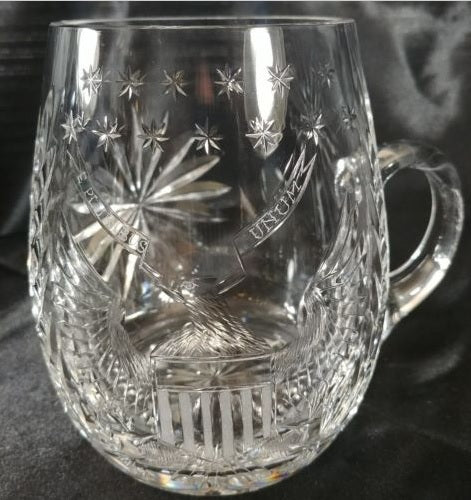 Waterford Crystal Bicentennial Tankard/Mug