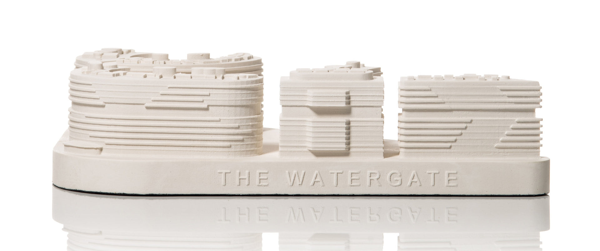 Watergate Scale-Model in Plaster