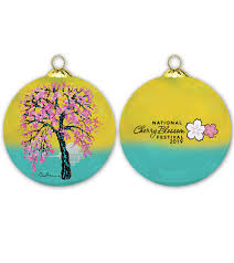 National Cherry Blossom Festival Official Ornament (2019)
