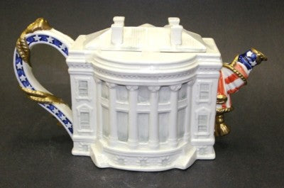 Famous Landmarks of the World Series Teapot – White House