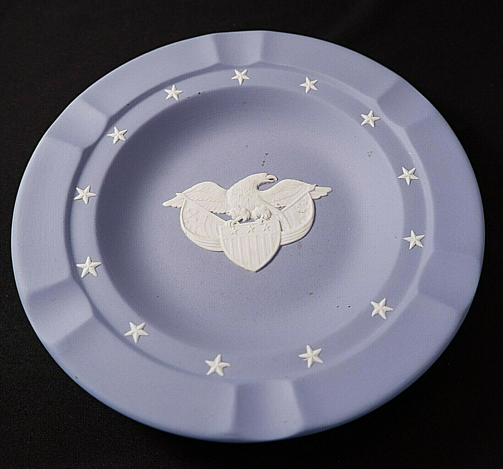 Wedgwood (Black or Blue) Basalt American Eagle Plate