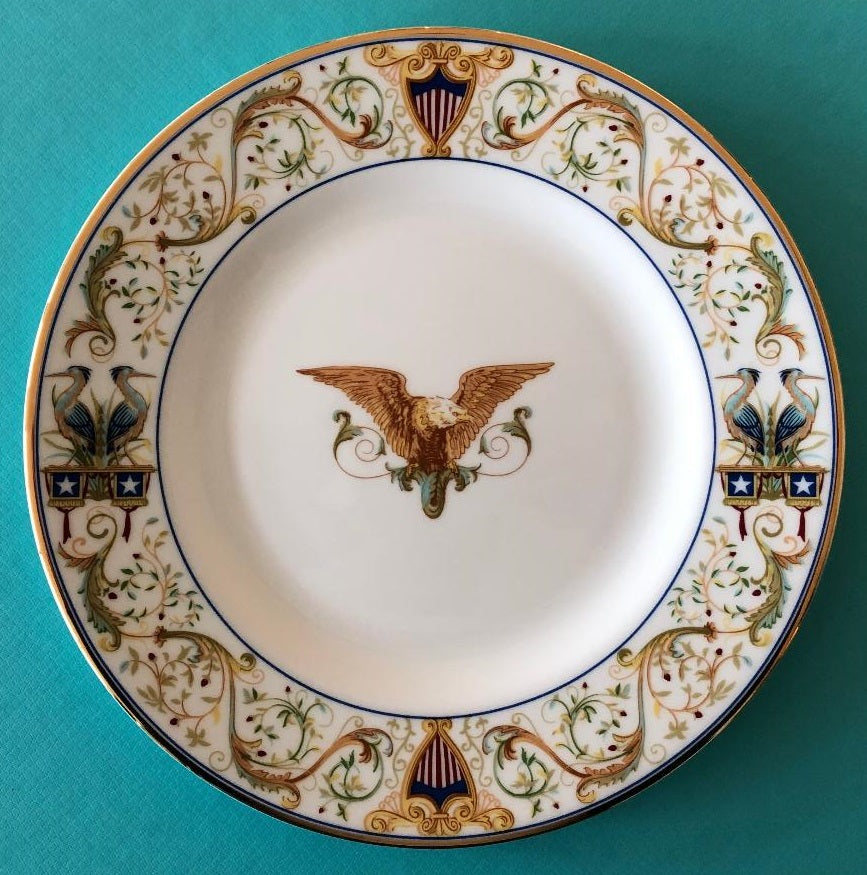 Tiffany & Co. 116th Congress Plate (Circa 2019)