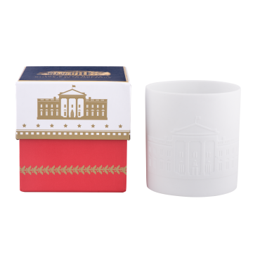 White House Porcelain Votive