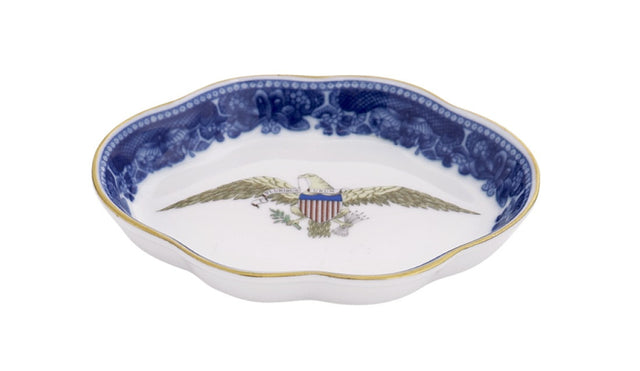 Diplomatic Service Eagle Ring Tray (Blue)
