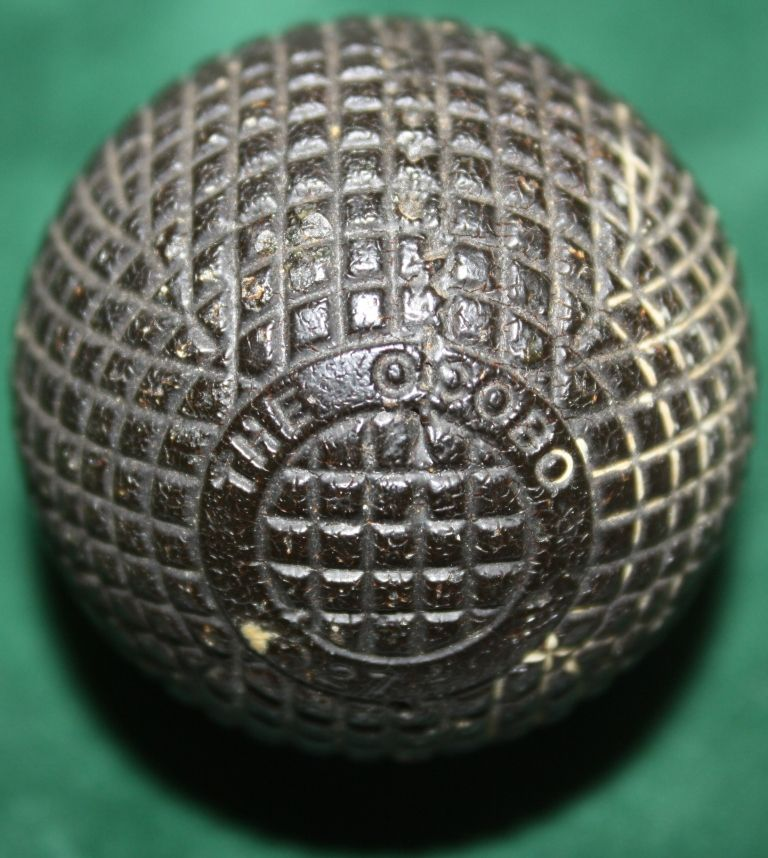 Early form of golf ball