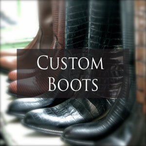 Luxury Italian Custom Boots