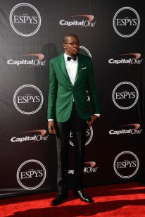 Kevin Durant in Treccani Milano shoes on Red Carpet Gala