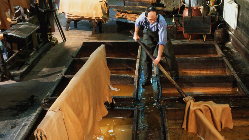 tanning process, Italian leather, steps