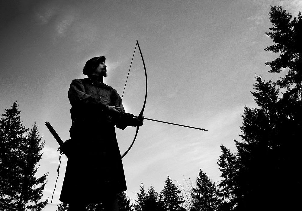 Scottish archer in the fourteenth century