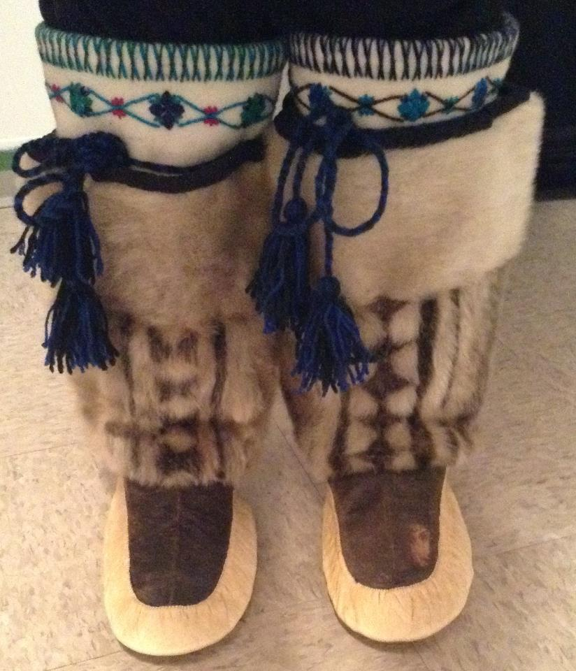 Inuit Kamiks, a forbearer to the riding boot, Treccani Milano riding boot history