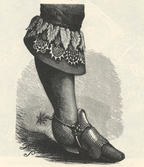 Versailles sixteenth century boots style, History of riding boots blog