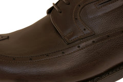Buy Online Brown Derby Italian Men's Shoes