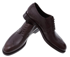 Formal Brown Derby Italian Men's Shoes