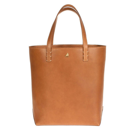 Capri Brown Calf Tote Bag