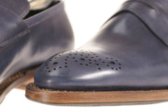 Calfskin Loafers Handcrafted for Chicago Bespoke Men