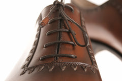 Brown Lace-up Bespoke Shoes for men