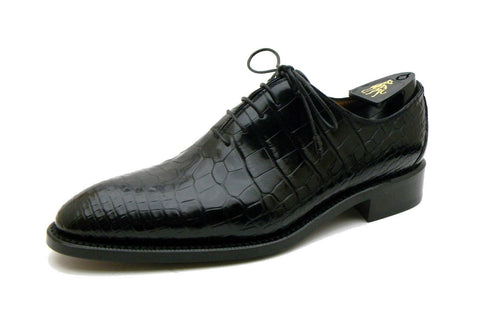 Milano Alligator Leather Oxford Shoes