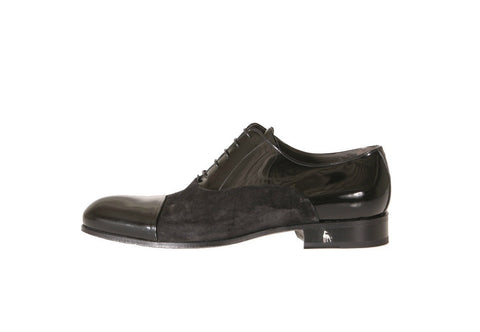 Napoli Patent Suede Oxford Shoes