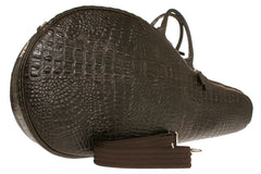 Tennis Racket Bag Brown Alligator Last Call