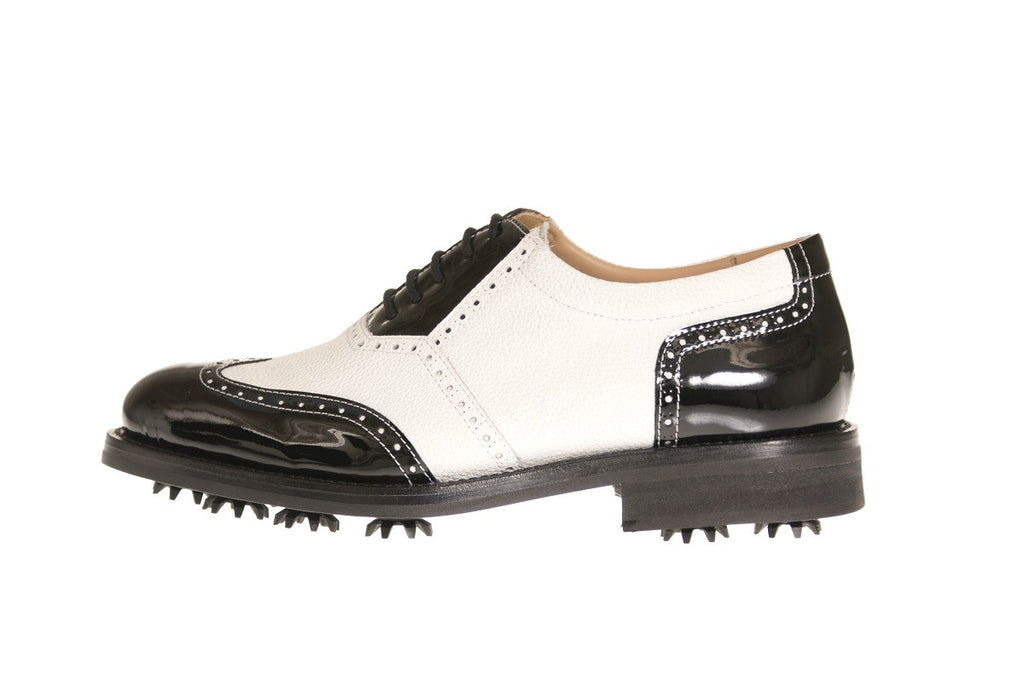 Verona Patent Deer Leather Golf Shoes