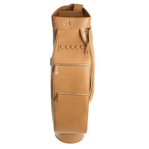 Golf Bag Light Brown Calfskin