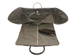 Garment Bag Brown Calfskin
