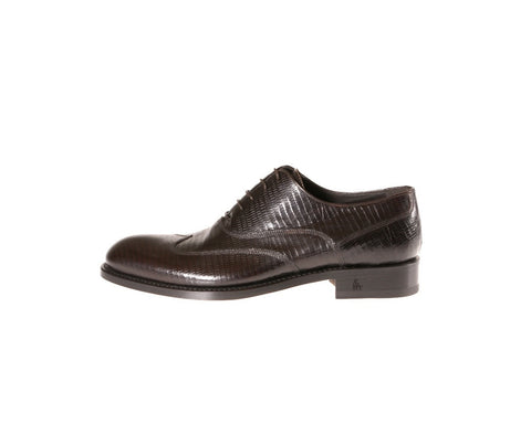 Andalo Tejus-Embossed Oxford Shoes
