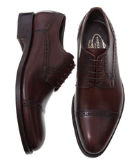 Finest Men Italian Shoes Online Size 15 Brown Color