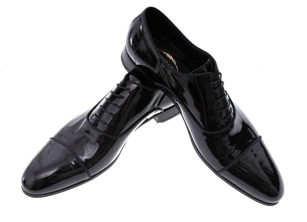 Piceno Patent Leather Oxford Shoes