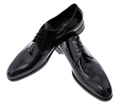 Trento Patent Leather Derby Shoes