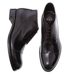Derby Calfskin Ankle Boots