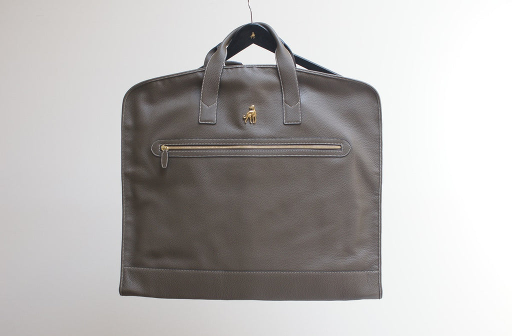 Leather Garment Bag Buy Online Luxury Toronto Handmade in Italy