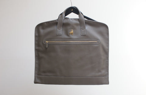 Leather Garment Bag Suit