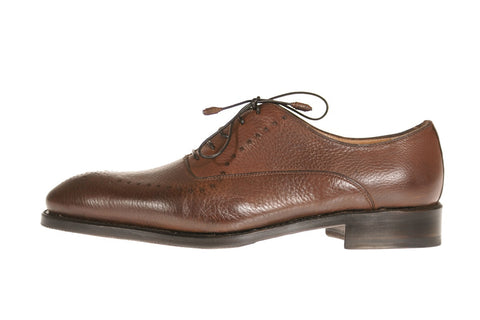 Treviso Deer Leather Oxford Shoes